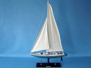 Wooden Stars and Stripes Model Yacht 40""