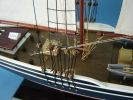 Wooden Bluenose Limited Model Sailboat 50""