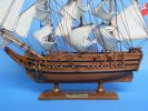 Wooden HMS Bounty Tall Model Ship 15""