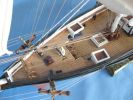 "Flying Fish 50"" Tall Model Ship Limited"
