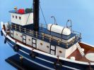 Wooden Brooklyn Harbor Tug Model Boat 19""