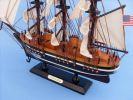 Wooden Star of India Tall Model Ship 15""