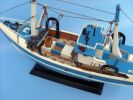 Wooden I'm Hooked Model Fishing Boat 19""