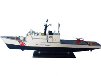 United States Coast Guard USCG Medium Endurance Cutter Model Ship Limited 18""