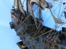Wooden Flying Dutchman Model Pirate Ship Limited 32""