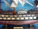HMS Leopard Limited Tall Model Ship 36""