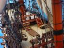 HMS Leopard Tall Model Ship 36""
