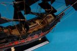 Captain Kidd's Black Falcon Limited Model Pirate Ship 15""