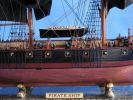 "Wooden Caribbean Pirate Ship Model Limited 37"" - Black Sails"