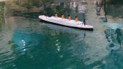 "Ready To Run Remote Control RMS Titanic 32"" with Lights"
