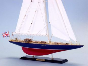 Wooden Endeavour Limited Model Sailboat Decoration 27""