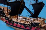 "Calico Jack's The William Limited Model Pirate Ship 24"" - Black Sails"