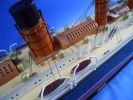 "RMS Lusitania Limited 50"" w/ LED Lights Model Cruise Ship"
