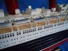 "RMS Queen Mary Limited 50"" w/ LED Lights Model Cruise Ship"